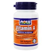 Vitamin A, 10,000 IU (100капс)